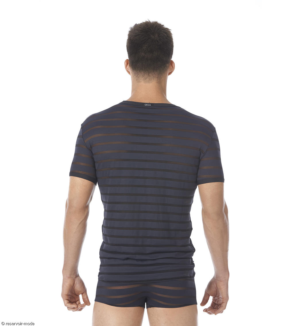 t shirt encore de la marque gregg homme r servoir mode. Black Bedroom Furniture Sets. Home Design Ideas