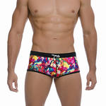 GIGO - Ref.GS01019 - Shorty de bain Tie Black Gigo