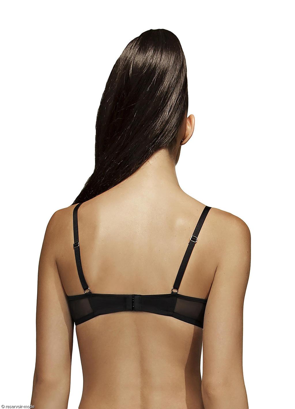 Le soutien-gorge voile dentelle noire de la marque Aimée L, avantagera réellement votre sex appeal grâce à sa dentelle transparente. Des sous-vêtements adaptés à .