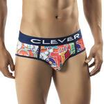 CLEVER - Ref.5239 - Slip Homme Necktie de Clever