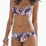 LASCANA - Ref.HSV-172 - Ensemble Bikini bandeau Sunseeker Lascana - Bonnet D