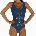 ADMAS WOMAN - Ref.11212 - Bikini Blue Ethnic de Admas