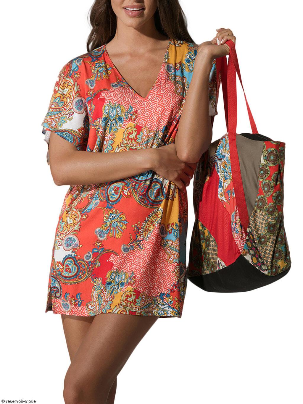 sac de plage indu luna r servoir mode lingerie femme et. Black Bedroom Furniture Sets. Home Design Ideas