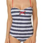 ADMAS WOMAN - Ref.11230AD - Maillot 1 pièce Navy stripes de Admas