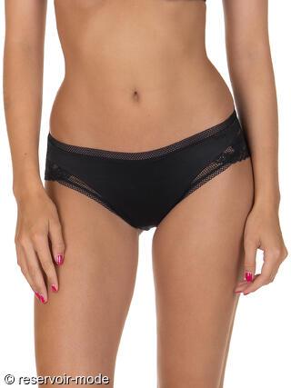 b71e9dbd58aa23 Slip taille haute Forever Lisca noir Ref : 12264LI - Voir les Slips de la  marque Lisca Donnez votre avis