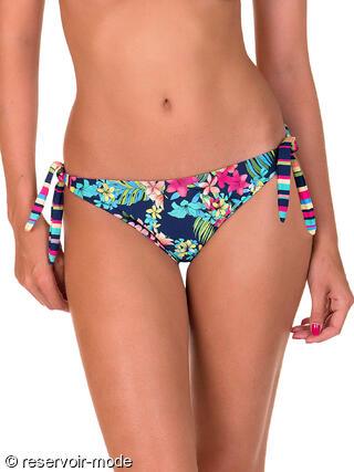 0a10426c932482 Bas de maillot de bain à nouettes Florida Lisca Ref : 41383LI - Voir les  Maillots de bain 2 pièces de la marque Lisca Donnez votre avis